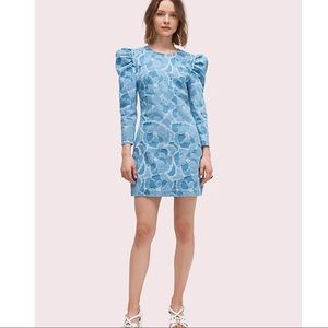 Kate spade newyork abstract peony dress 14